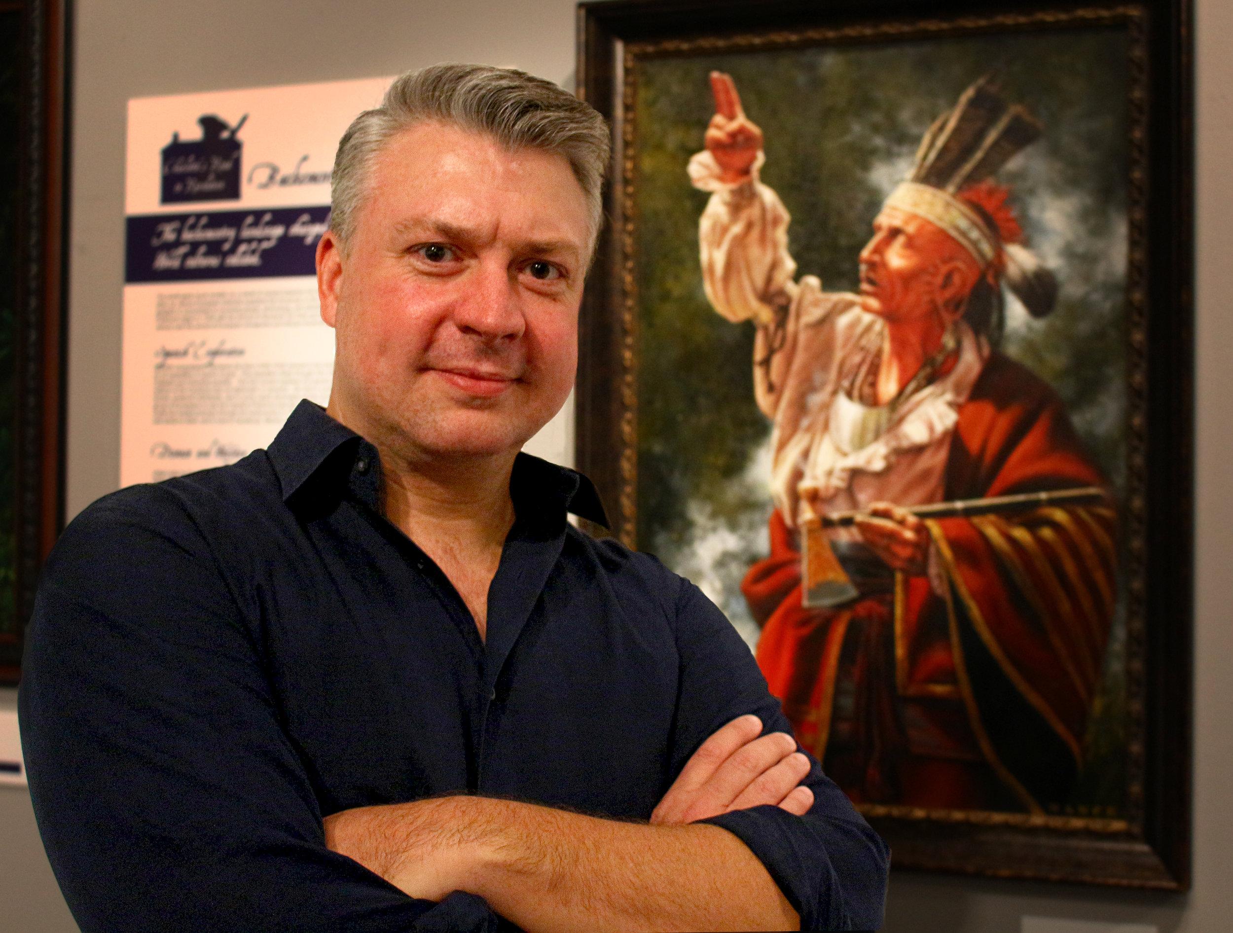 Artist Dan Nance