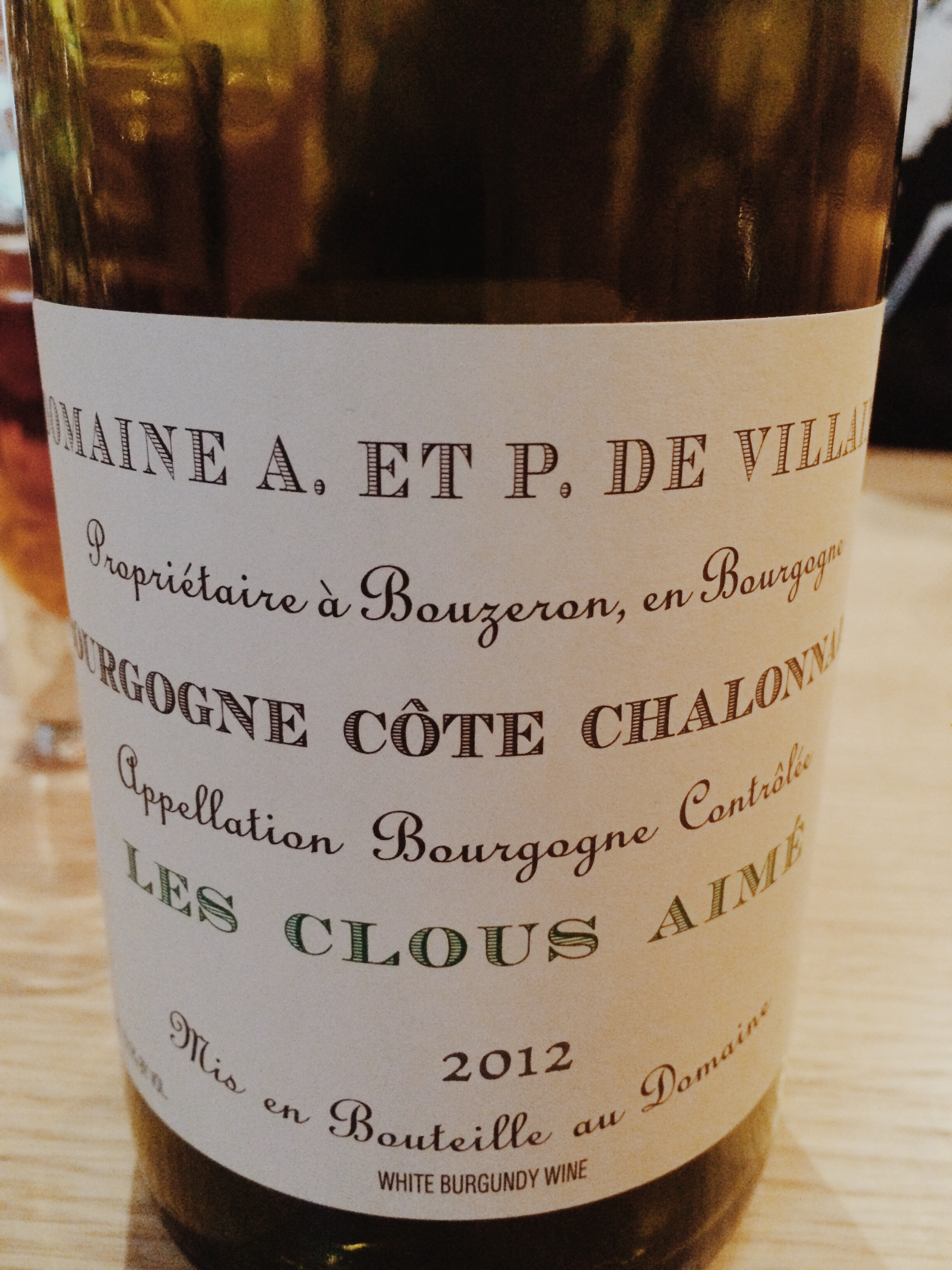 Robert Bohr and the wine guys at CB are firm believers in White Burgundy.