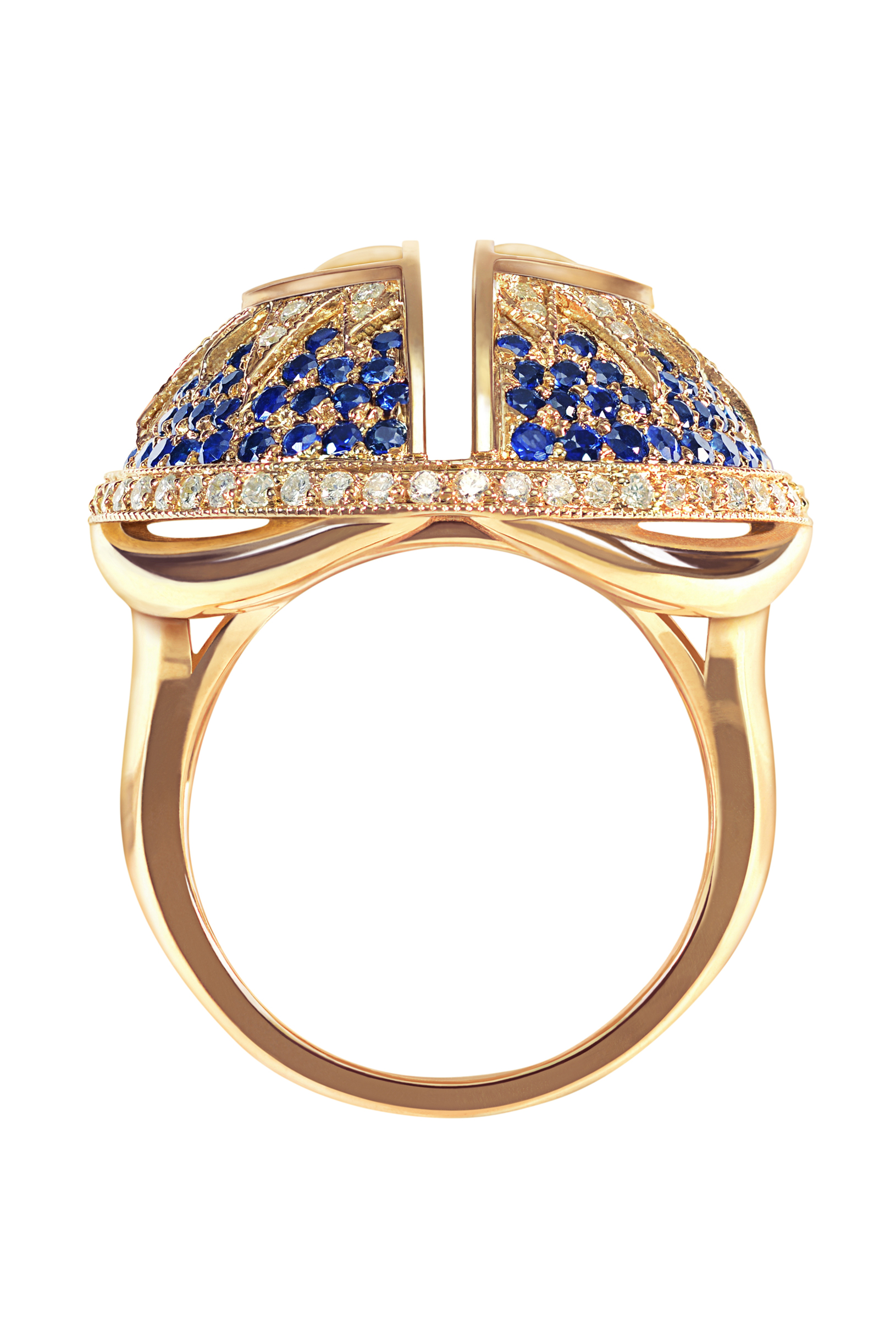 Celestial Cocktail Ring,