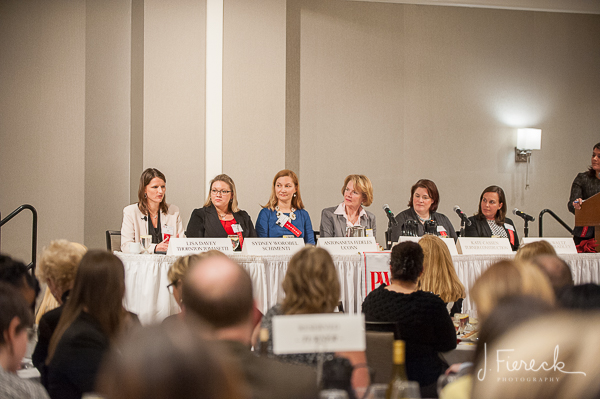 The panel included a group of talented and inspirational women from the architectural, engineering and construction industry. As a mother of two daughters, I would love to see my girls up on a stage like this one day.