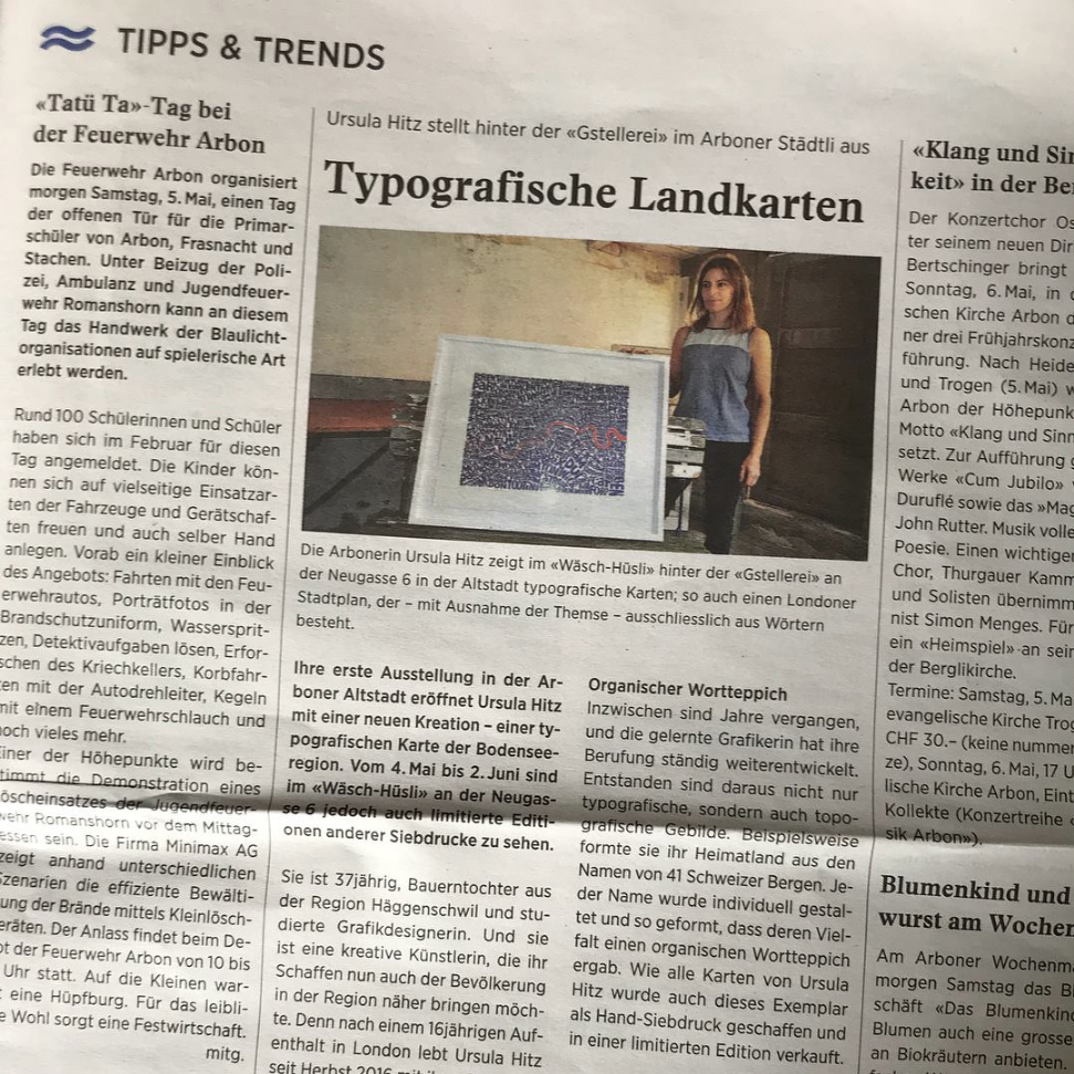 In the local paper  Felix. Die Zeitung