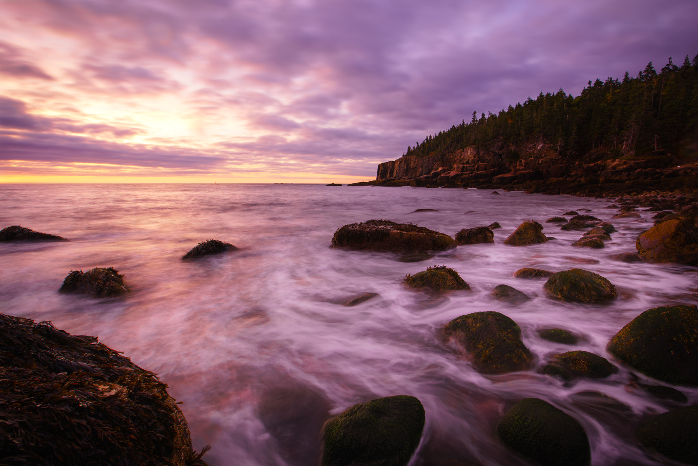 Maine is the Oregon of the East: Both have a Portland, plenty of microbrews, and the most rocky coastline for their respective sides of the country. Acadia is Maine at it's best, a part of New England that looks like no other.