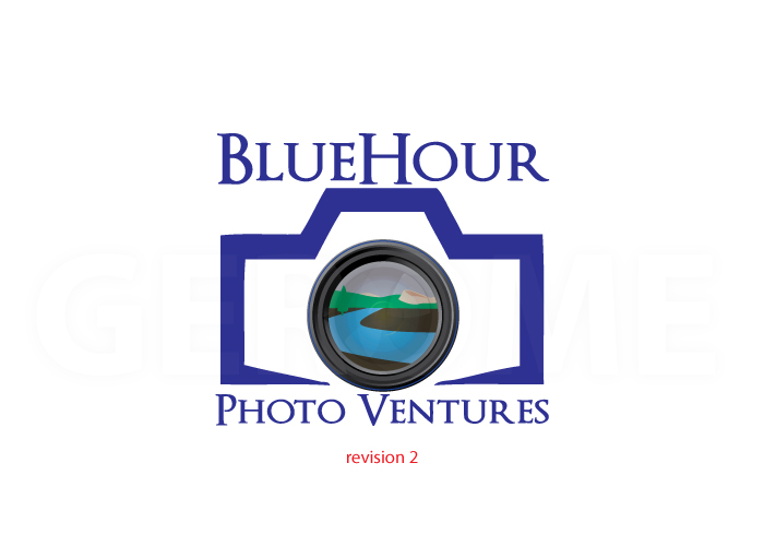 Gerome gets his vector on and hits a home run with the second revision. But wait, is this really going to be the BlueHour logo?