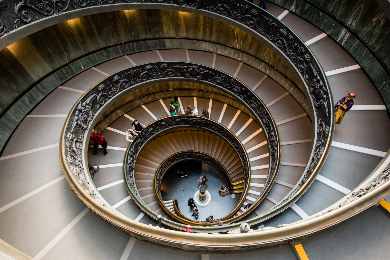 The Vatican Museum © Allie Richards