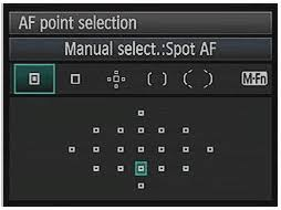 Try using Single-Point focus for more control.