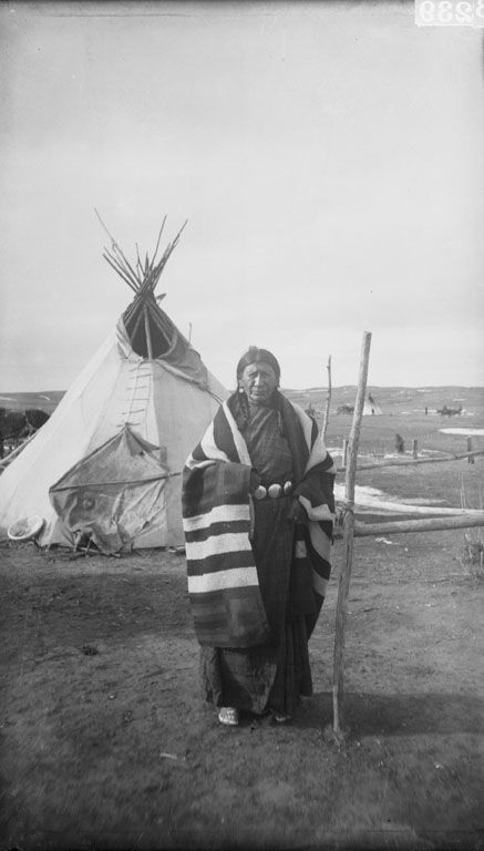 Lean Woman (wife of Red Cloud) 1892