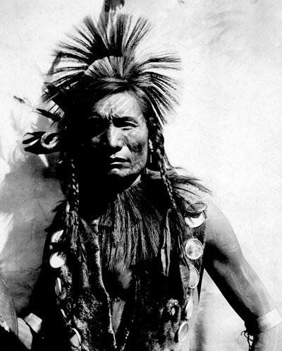 Straight Forehead - Oglala – 1901