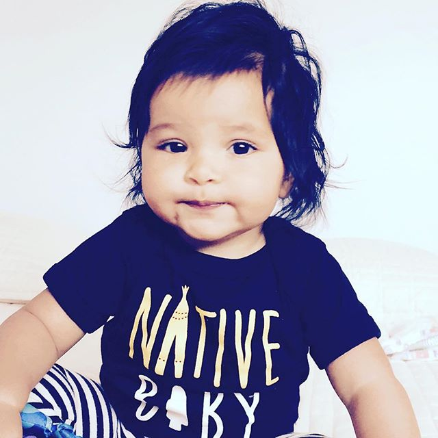 📸 @kjerniga Native Baby onesie! #teamntvs #nativebaby #ntvs
