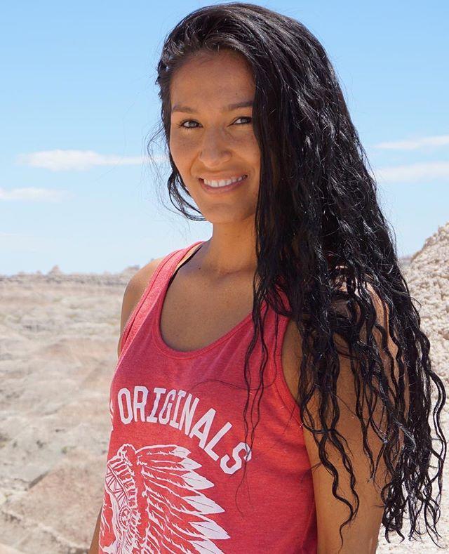 📸 @lissa.moon ・・・ 2017 and we are still here ❤️✊🏽 #proud #proudnative #native #nativeamerican #nativelove #nativewoman #oneida #chippewa #mohican #stillhere #notyourpocahontas #badlands #southdakota #nativeamericanheritagemonth #nofilter #naturalbeauty #ntvs #teamntvs #nature