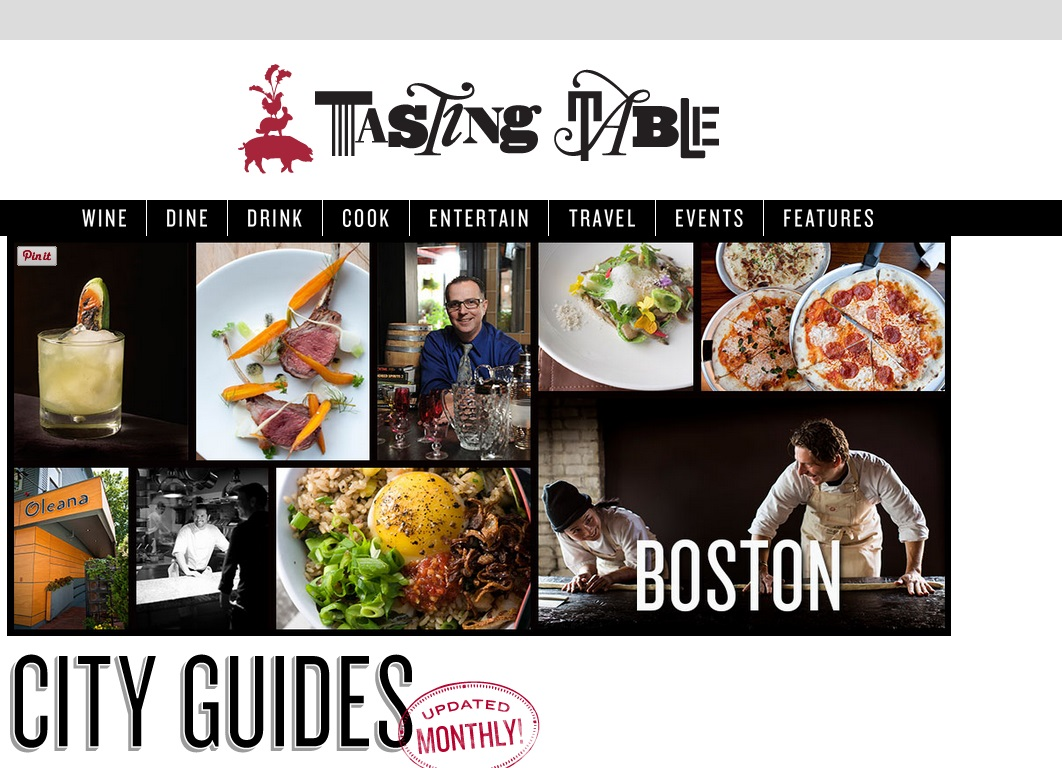 TASTING TABLE City Guide: Boston