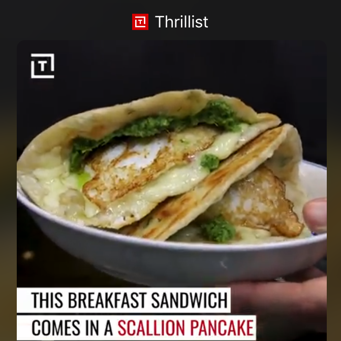 The Double Awesome from Mei Mei featured on Thrillist's Fork Yeah series  Click  HERE  to watch the video...3 million views and counting!