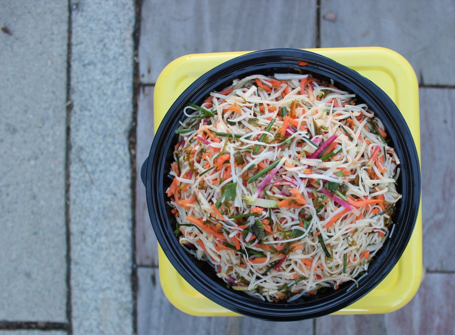 It's hard to say goodbye. Let us make it easier. - Place your next catering order before Saturday, March 17, 2018 to receive a FREE Maple Sesame Noodle Salad before it comes off the menu. Limit 1 per guest, $300 min order.