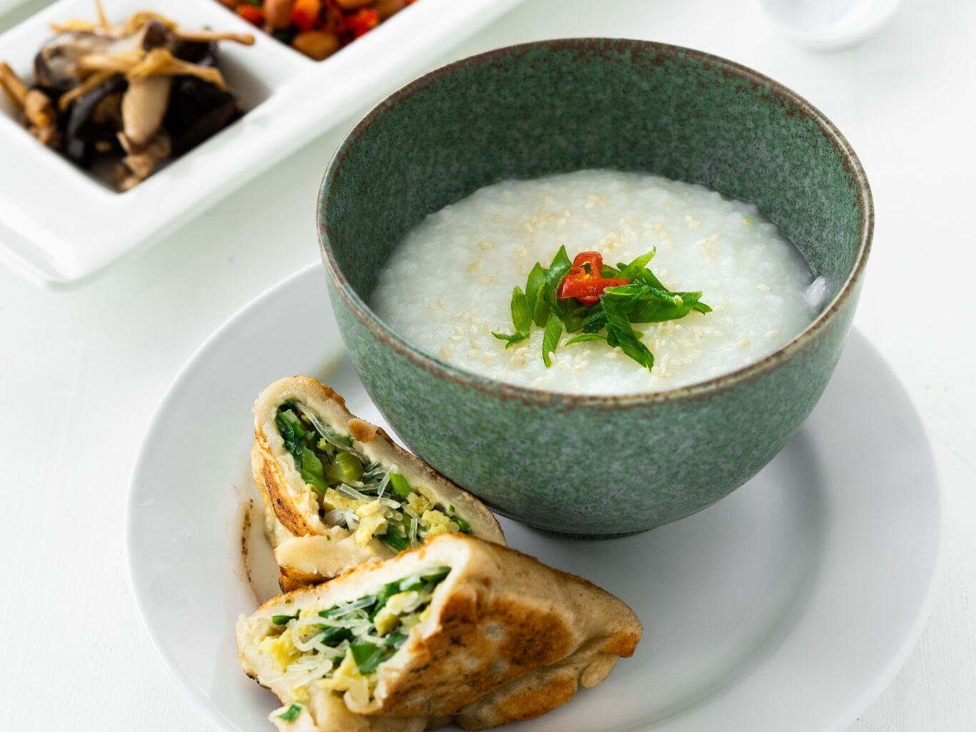Congee and Me Pop-up - Monday Oct 7, 2019 | 8:30am - 10:30am: Congee and Me is bringing traditional rice porridge back in style with fun toppings, some extra spunk, and lots of love. Come try our twist on the original Chinese breakfast. It is inspired by how Brookline native, Arielle Chernin, grew up eating in a Chinese-American household.RSVP