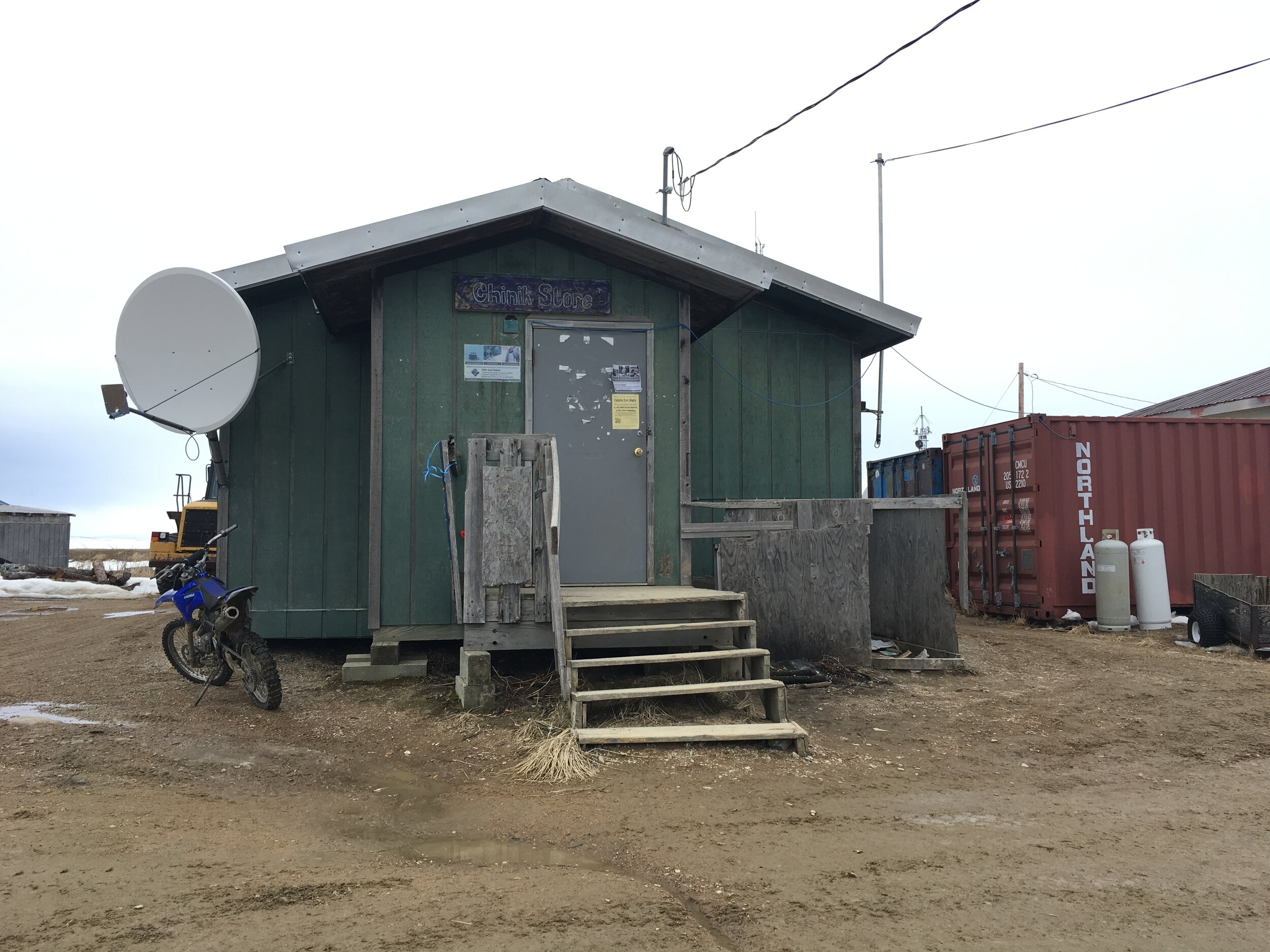 The town store in Golovin, AK (in the Nome area).