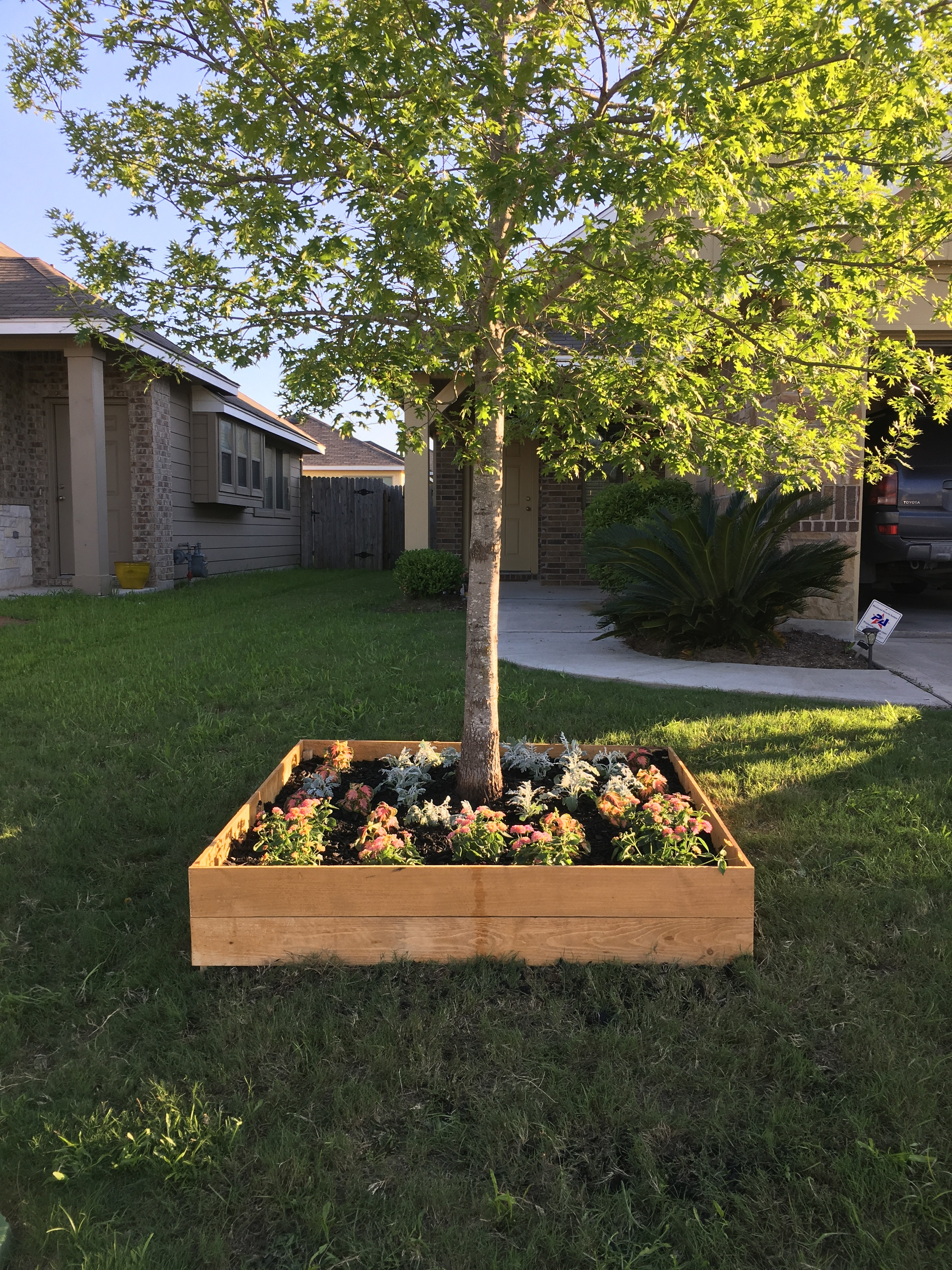 Diy Raised Flower Bed The Great Goodness