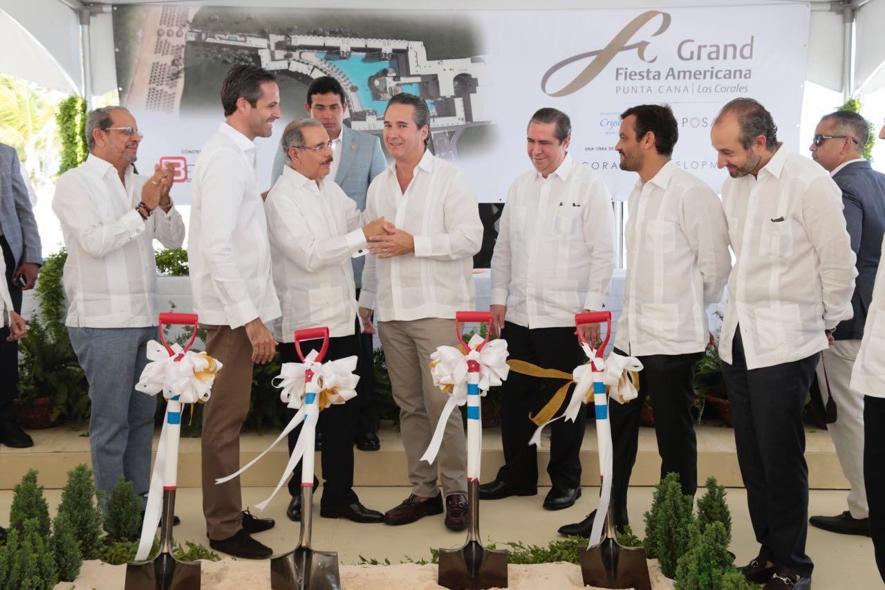 INAUGURACION CONSTRUCCION HOTEL GRAND FIESTA AMERICANA LOS CORALES PUNTA CANA 2017