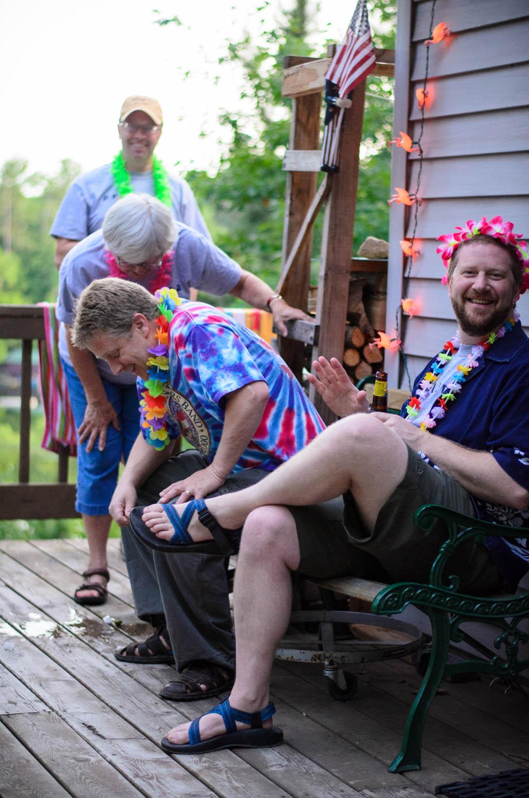 Somebody always spills their drink // Wisconsin // July 2014