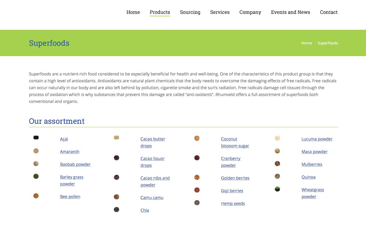 Rhumveld Winter & Konijn products
