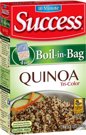 Quinoa product of Rivana Food INC