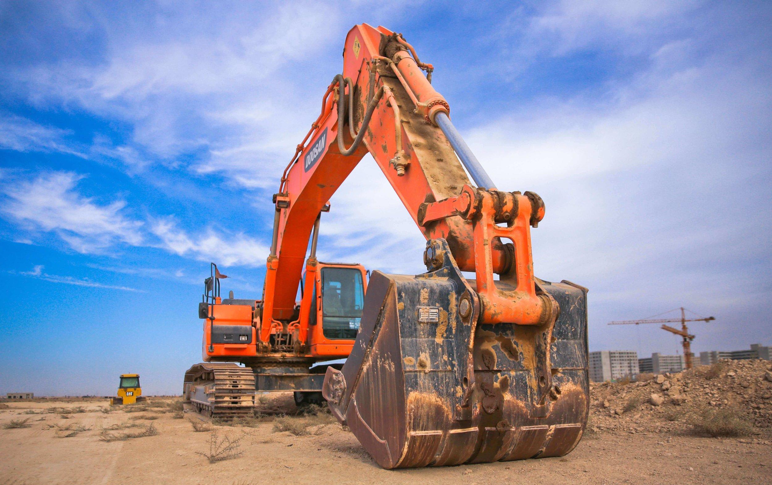 bulldozer heavy machine