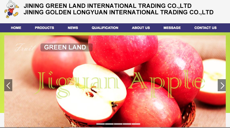 JINING GREEN LAND INTERNATIONAL