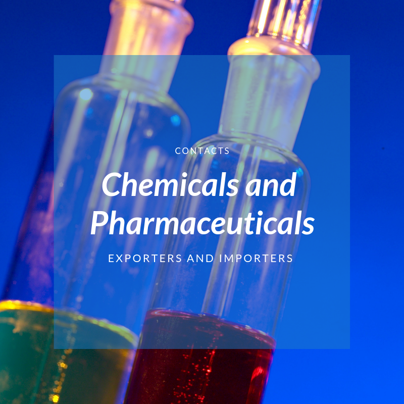 Chemicals And Pharmaceuticals Store