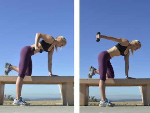 Tricep Extensions - slow & controlled movement