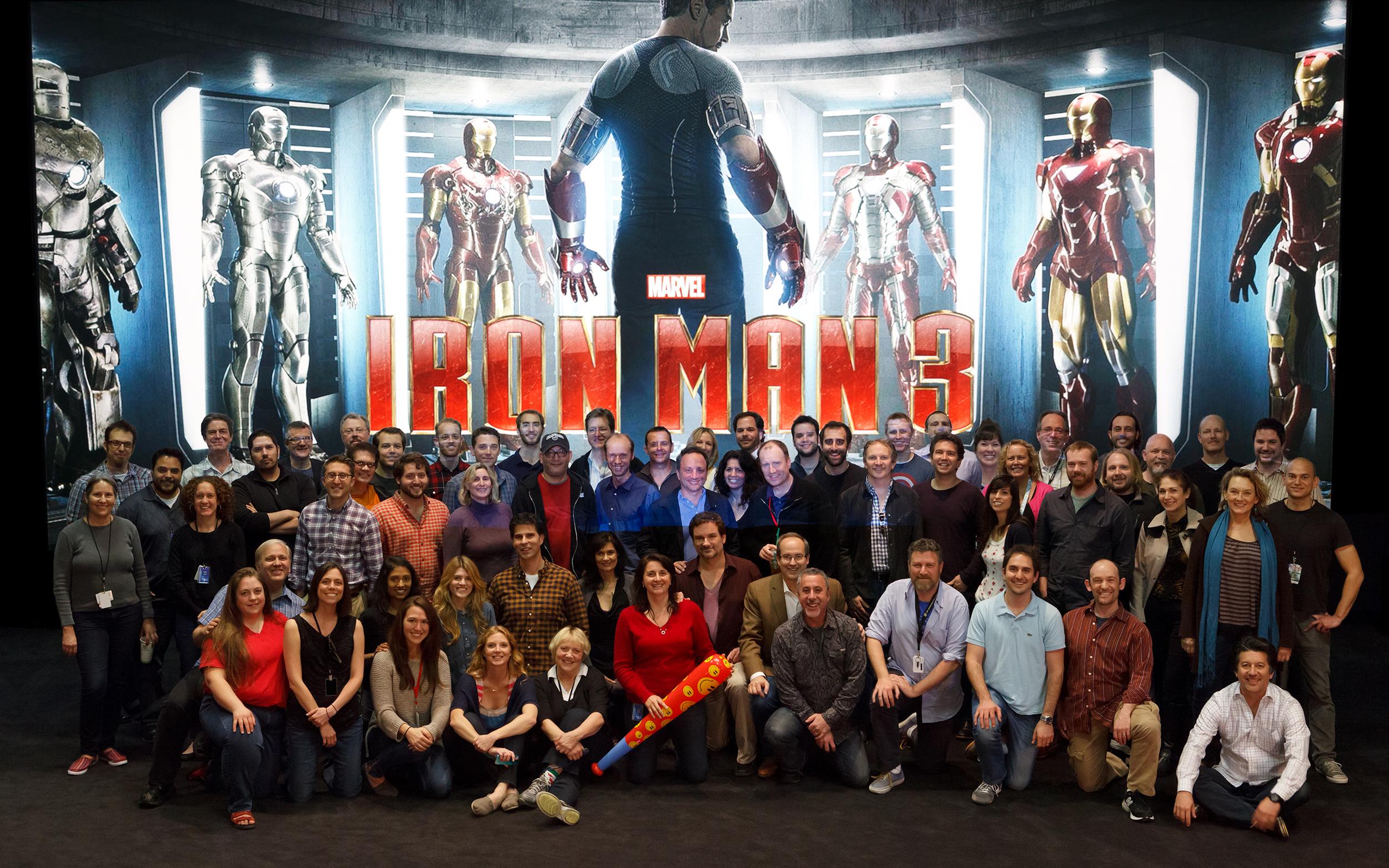 Marvel VFX production crew TODDAO 2012