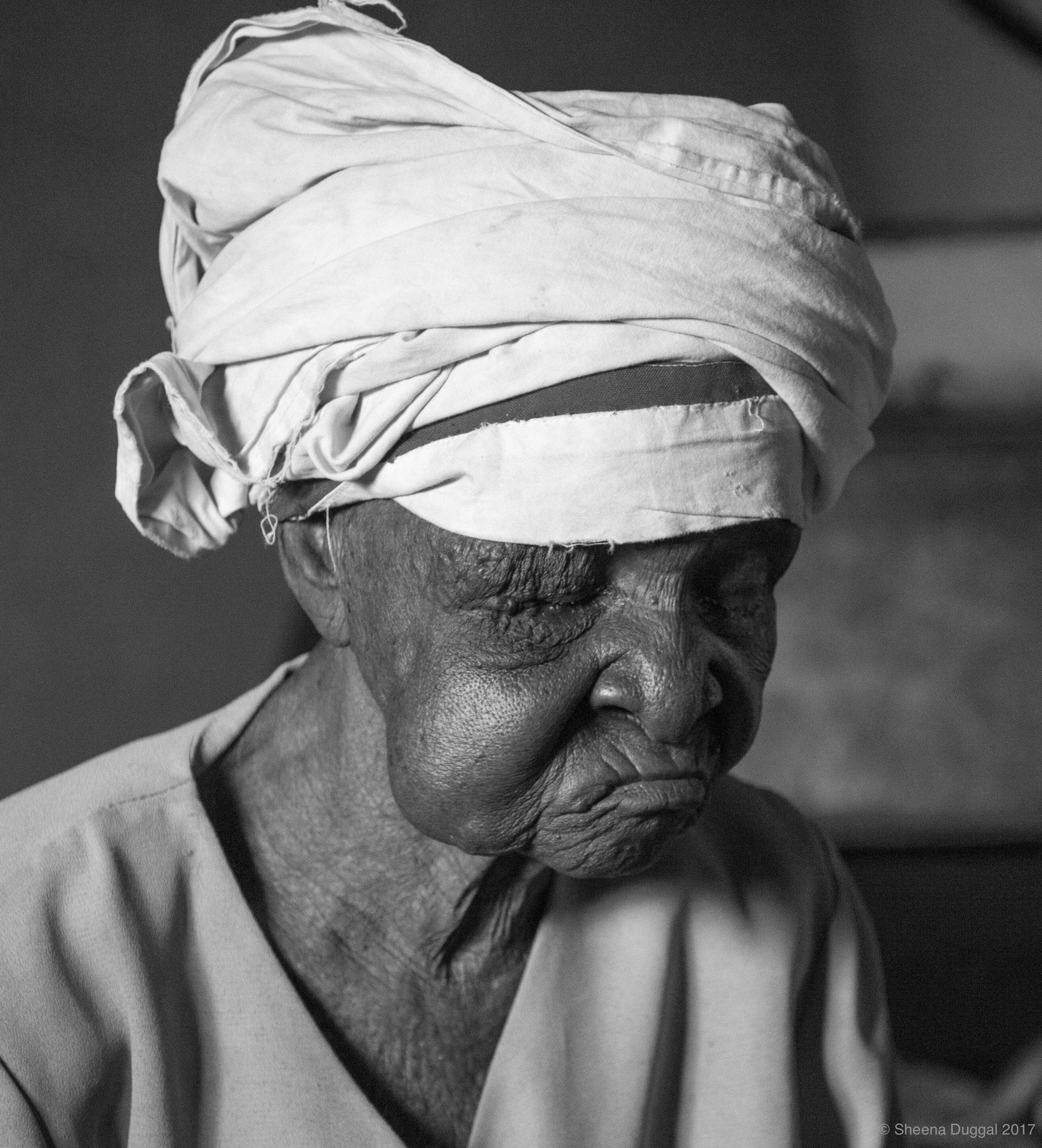 Old lady Zimbabwe 2010