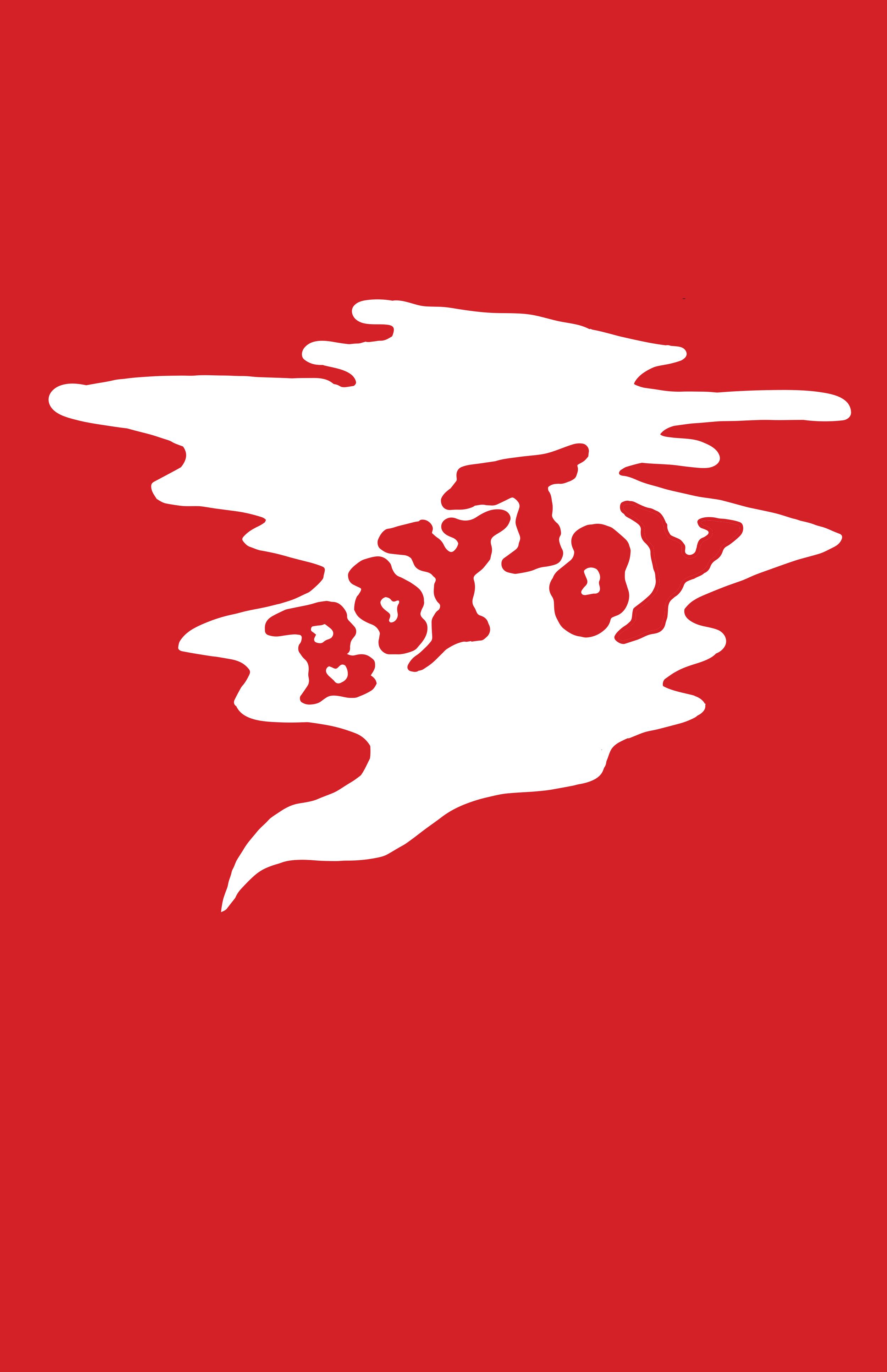 BOYTOY logo and koozie design