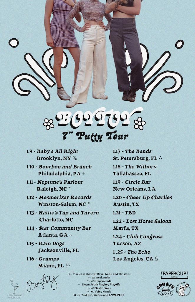 BOYTOY tour poster