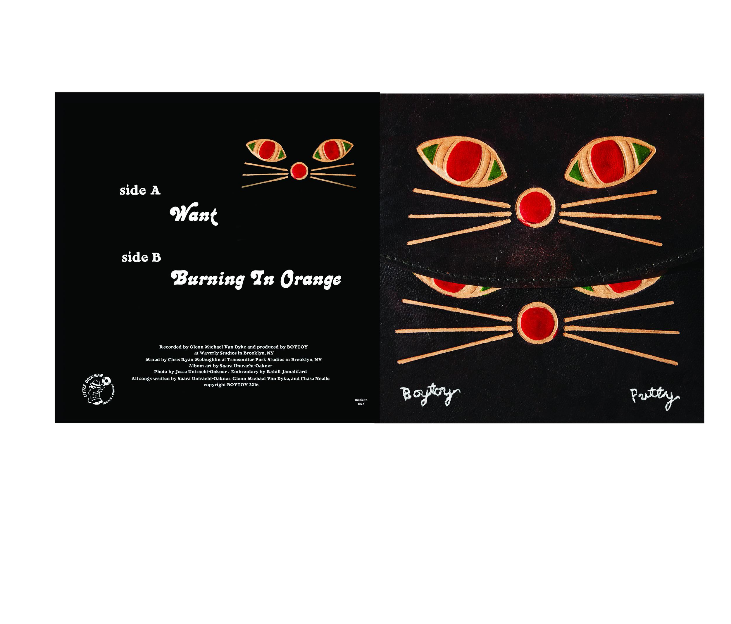 """BOYTOY """"Putty"""" 7"""" artwork"""