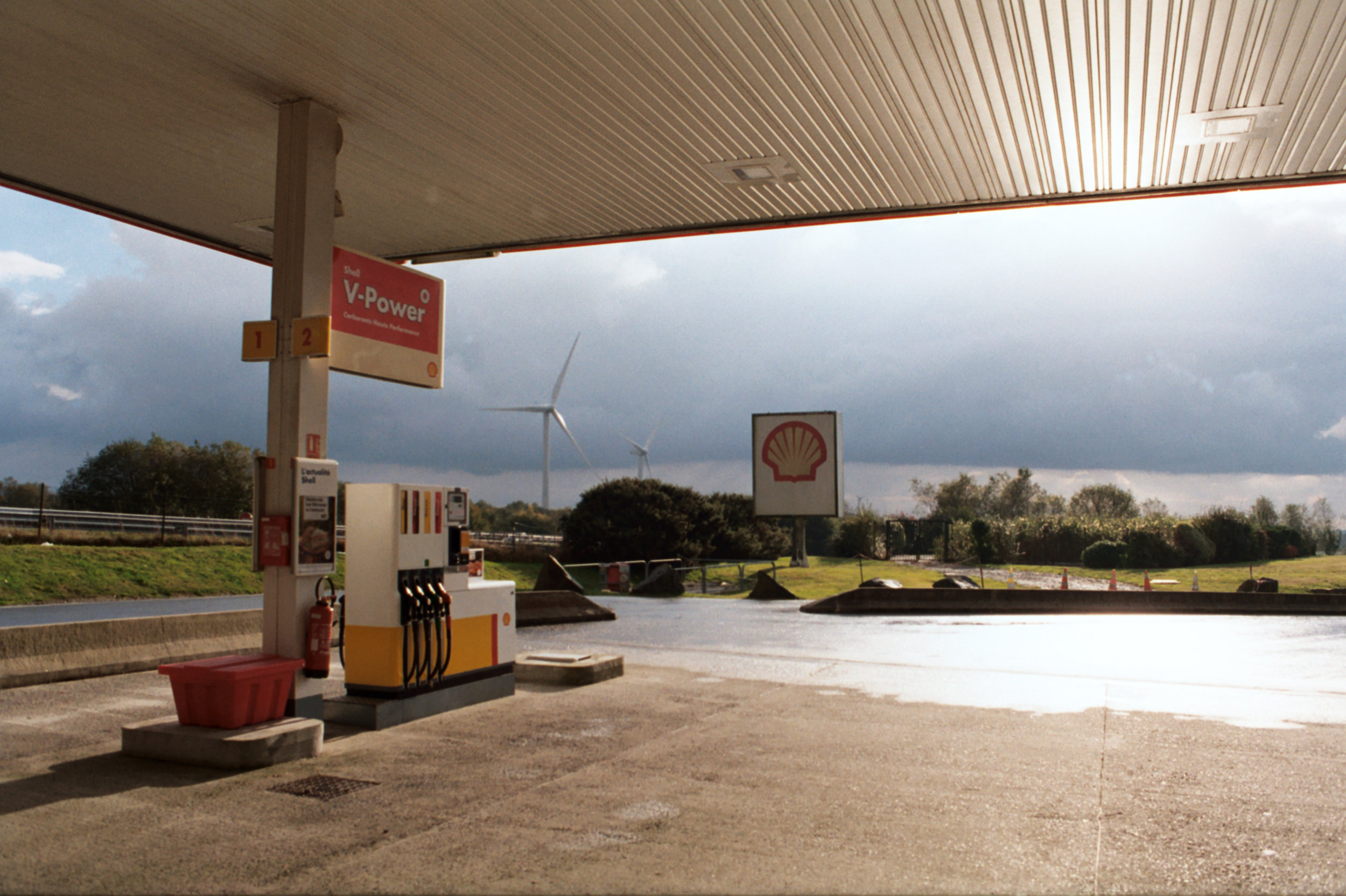 Gas station, Spain