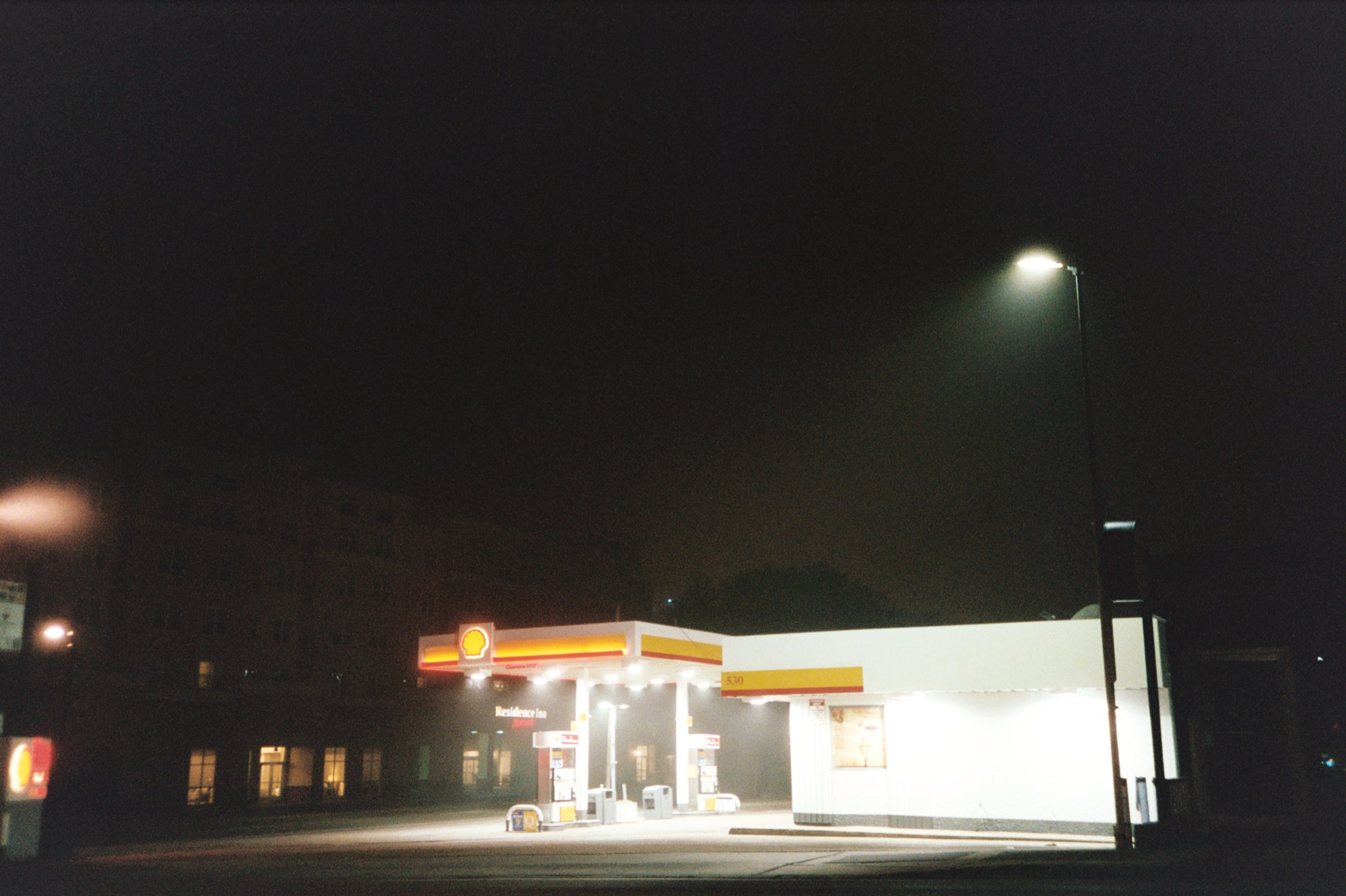 Shell station, Tallahassee, Florida