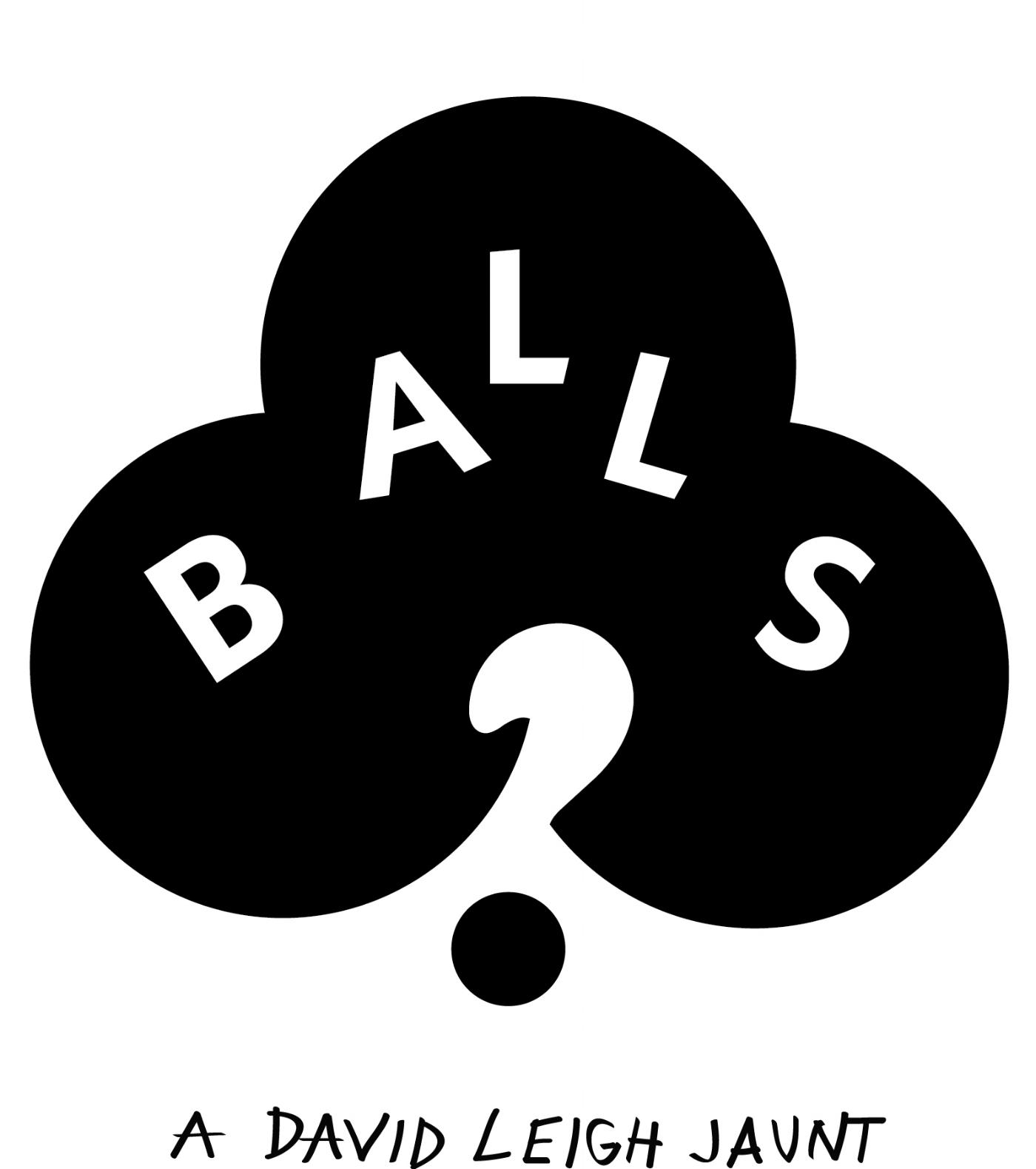 """Logo for short film """"Balls?"""""""