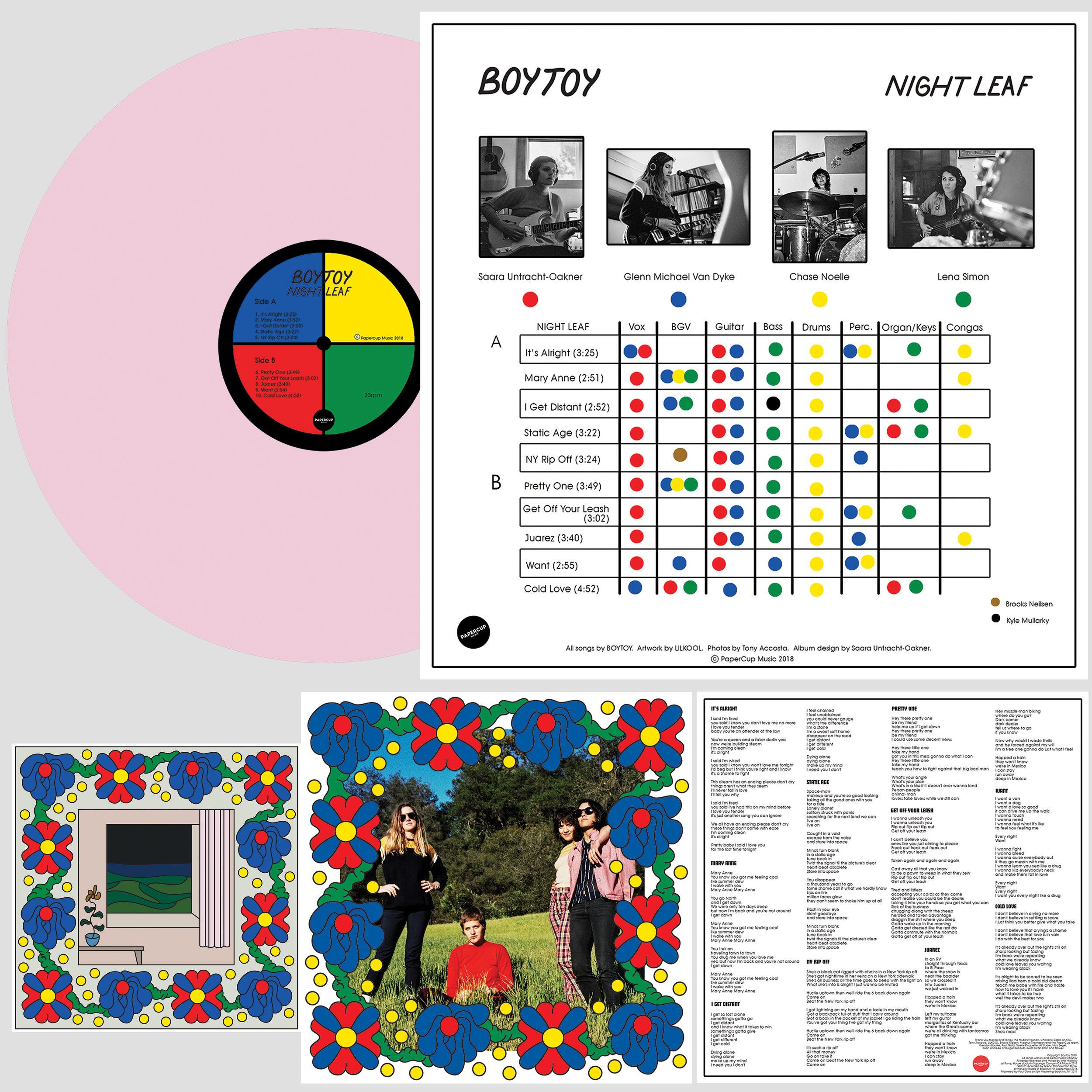 Album art concept / design / layout