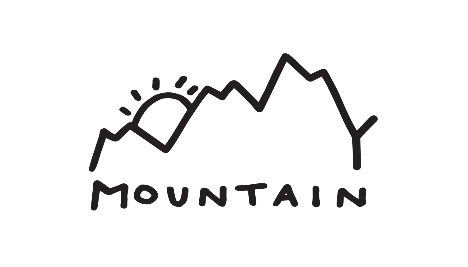 """Logo for """"Mommy Mountain"""" concept brand"""