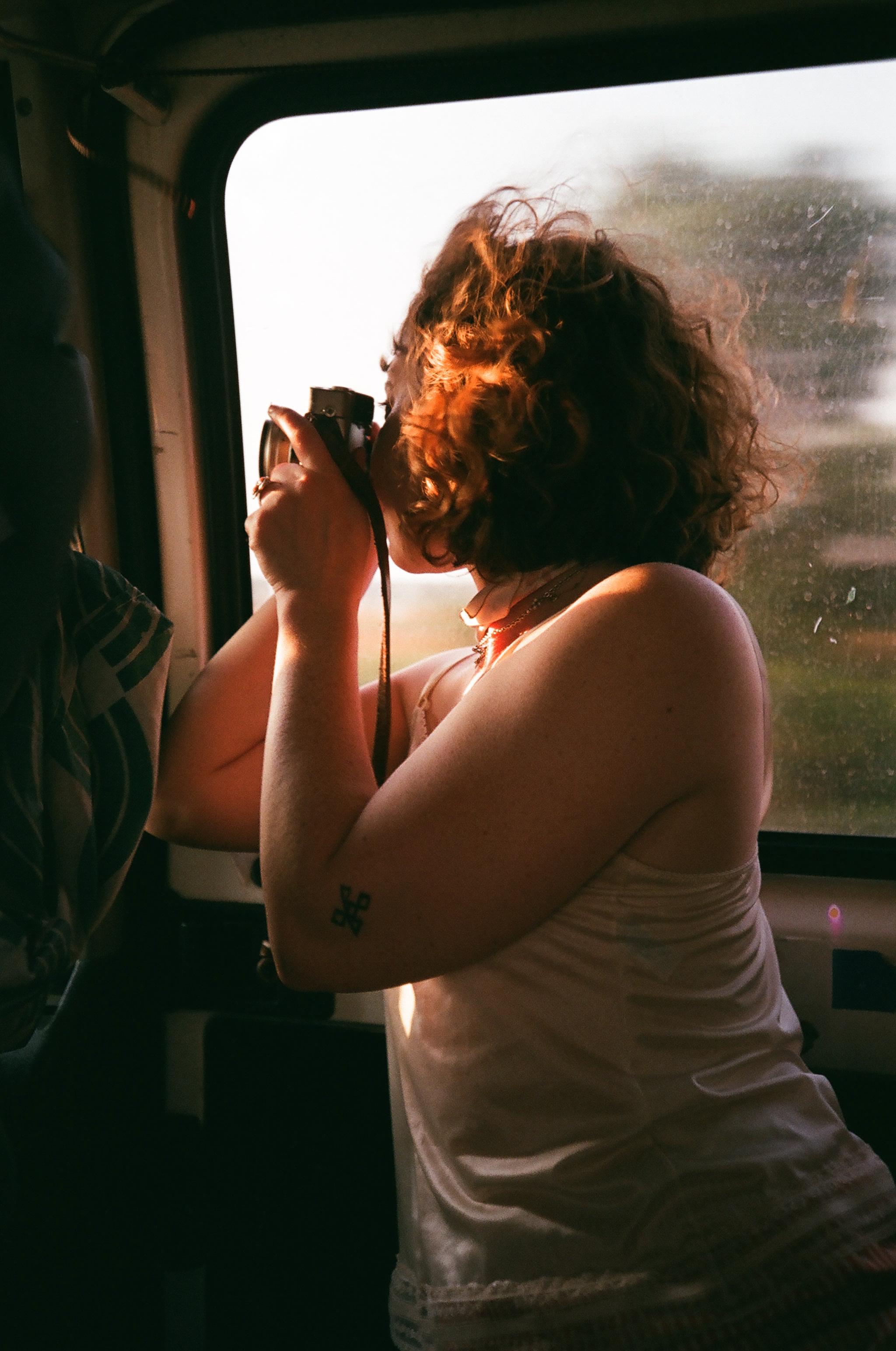 Noelle in the Van, Spain