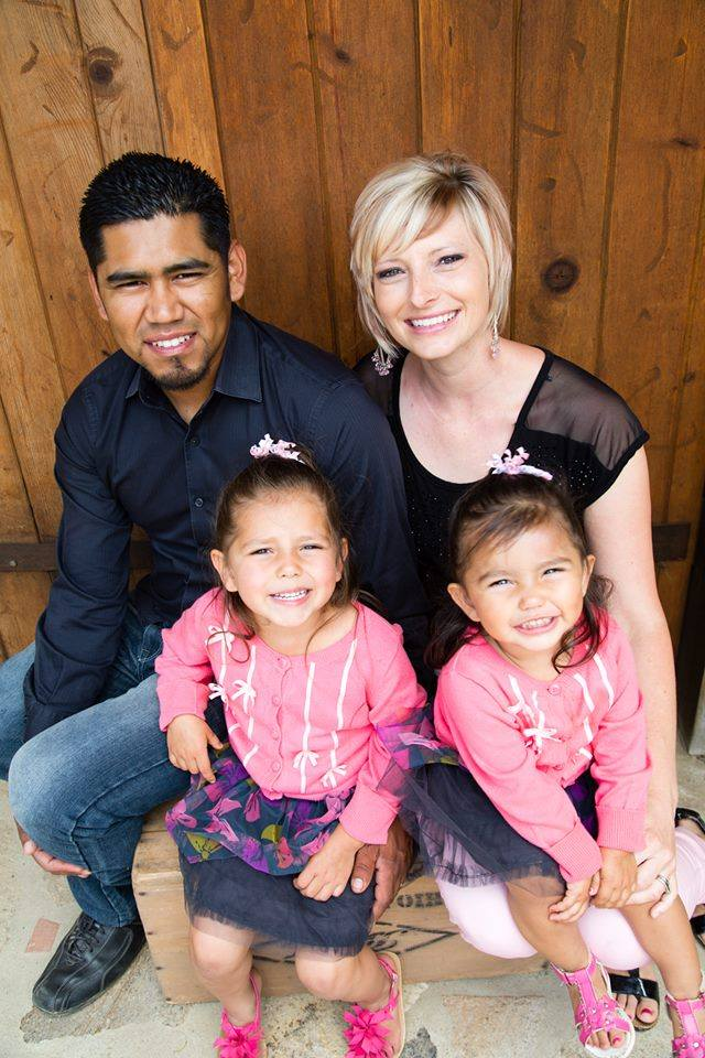 The directors: Daniel and Heidi and their two daughters.