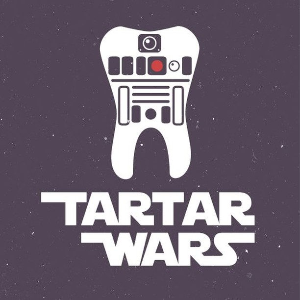 I know I'm two days late, but #MayTheFourth be with you!! #itsatrap #mondayfunday #dentalhumor