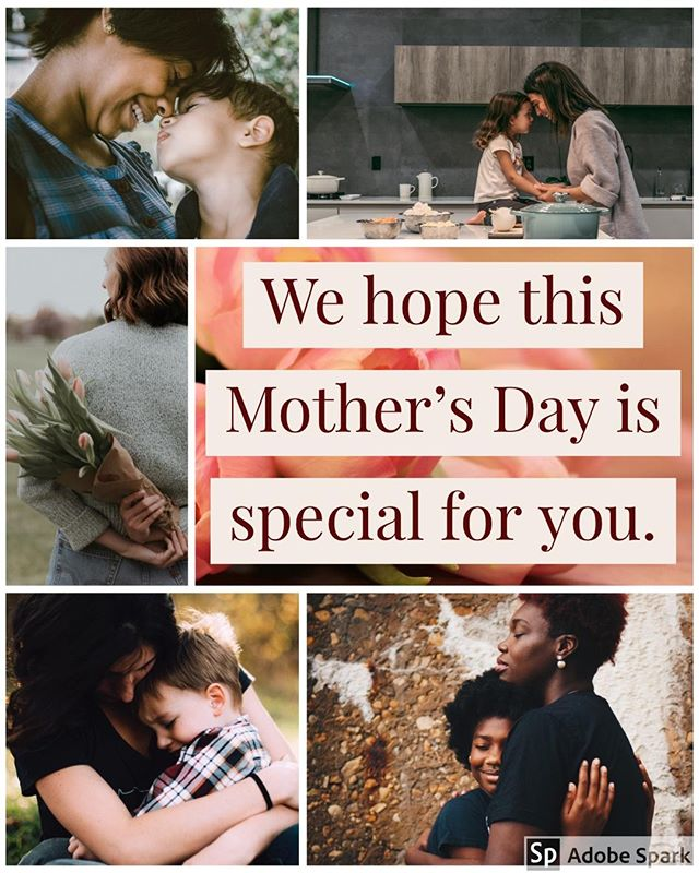 Relaxed, happy, stressed, sad—there are many emotions that people experience on Mother's Day. It can be a day of pure joy, pure grief, or a rollercoster. We wish those who are happy all happiness. We wish those who grieve good people around them to grieve with them. We wish you all a very special Mother's Day.