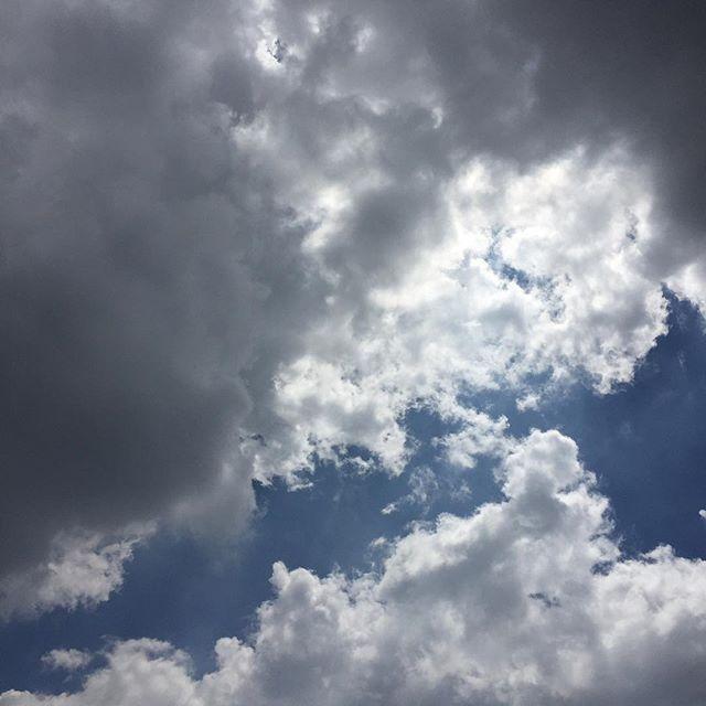 #clouds #beforethestorm #bluewhitegrey