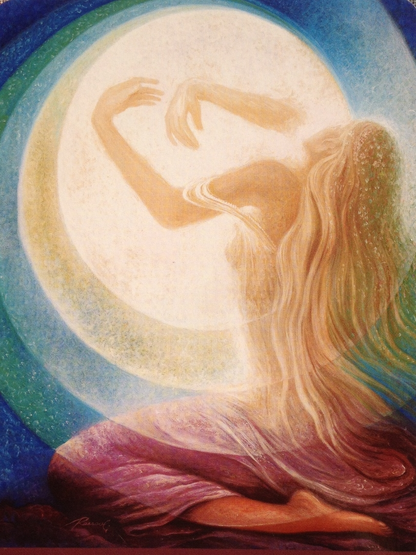 Image from Journey of Love by visionary artist Rassouli