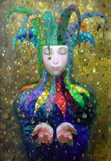 "Image: ""Golden Rain"" by Victor Nizovtsev"