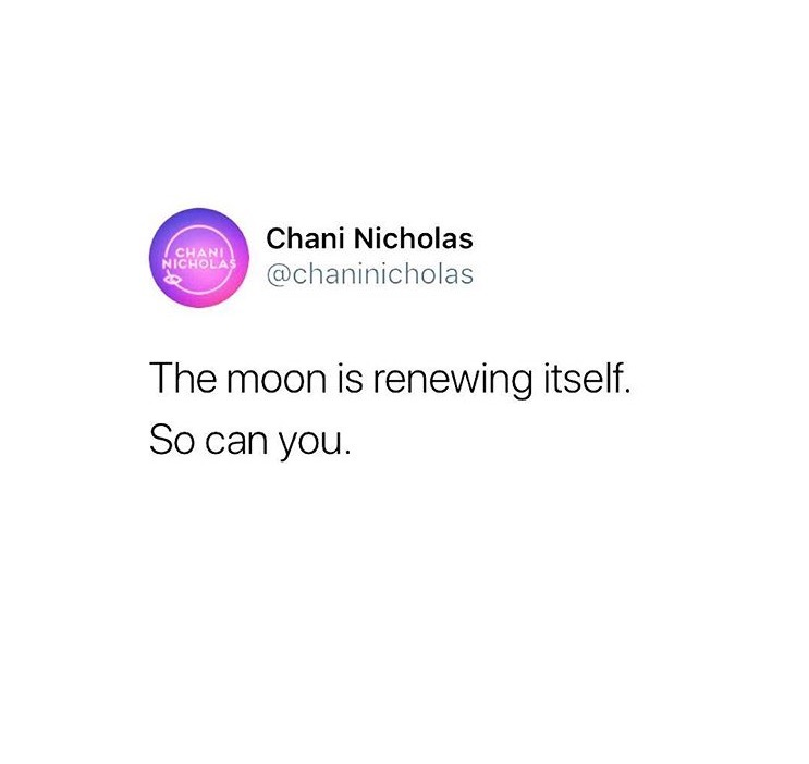 Words of wisdom from my favorite astrologer, @chaninicholas!