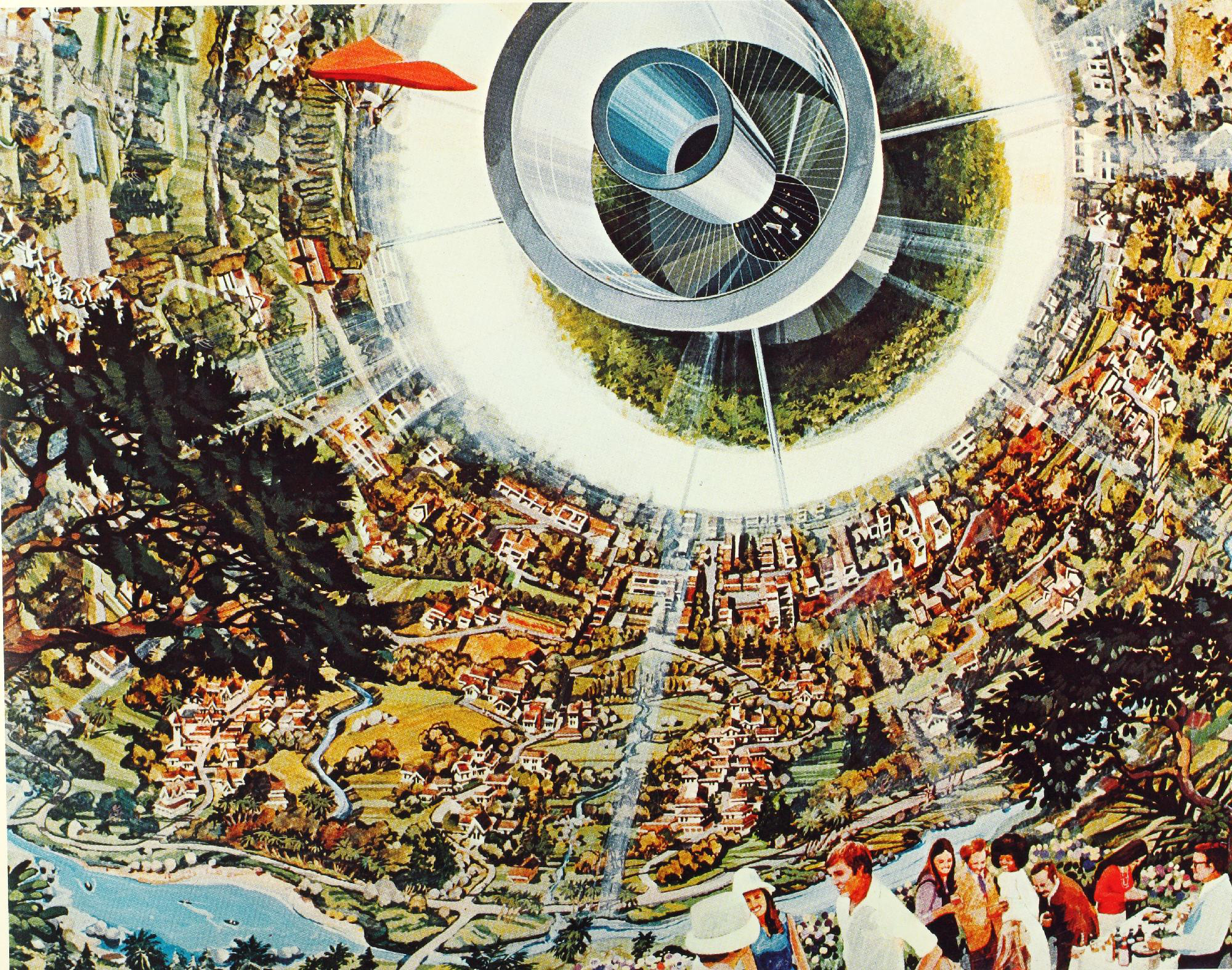 The secret space programs may have well already constructed space colonies of this technological magnitude throughout our solar system and beyond.