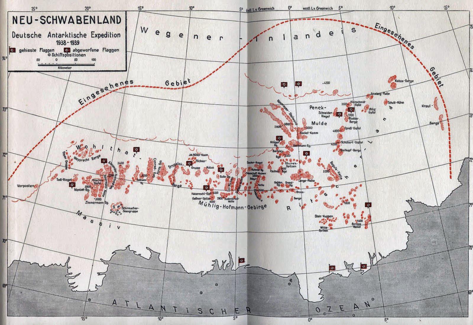 Inner Earth Map