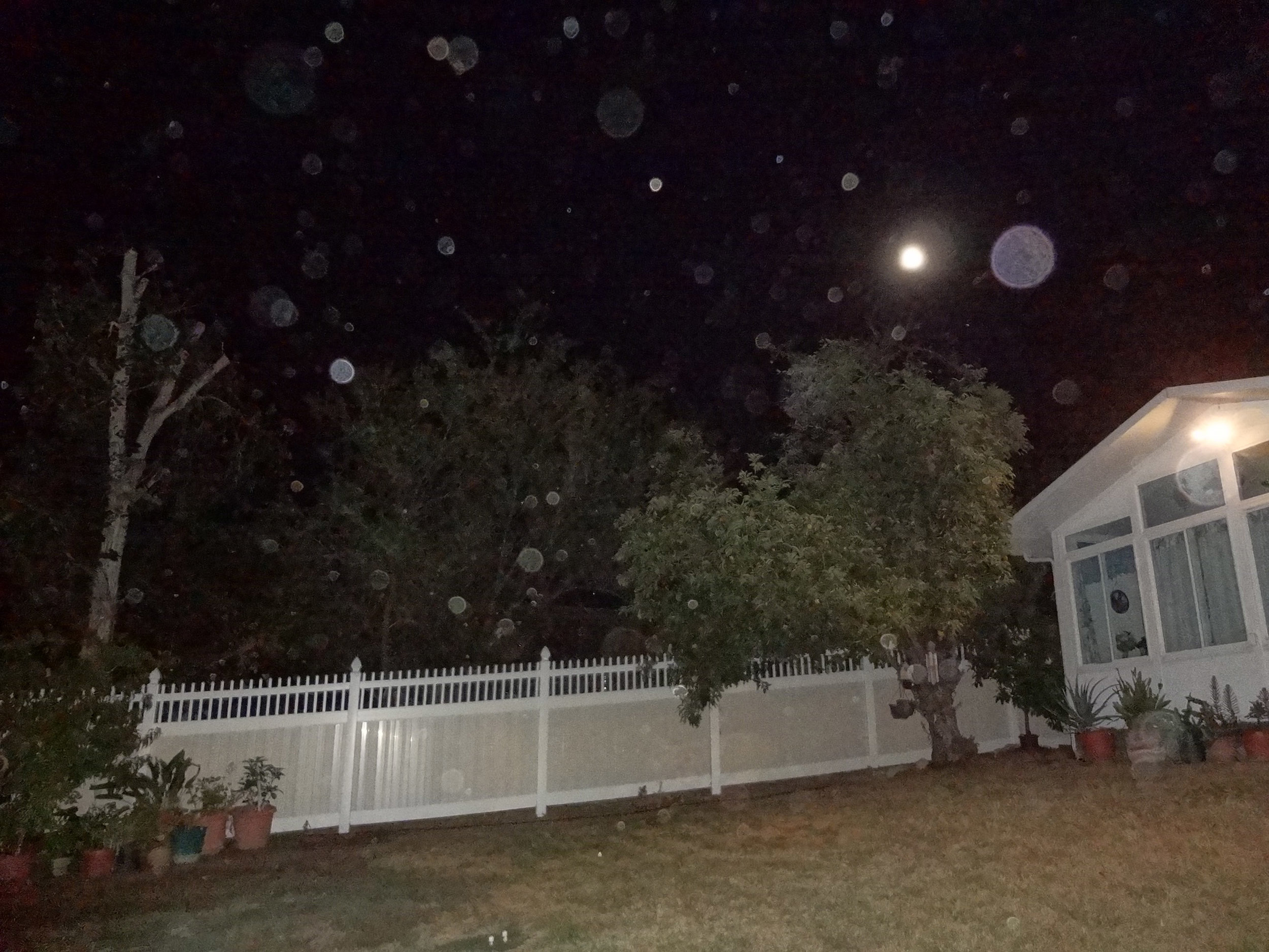 SUMMONING ORBS THROUGH MEDITATION DURING SUPERMOON   10/10/2015 — Redlands, California