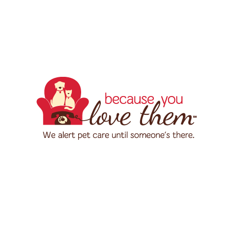 Because You Love Them! Logo