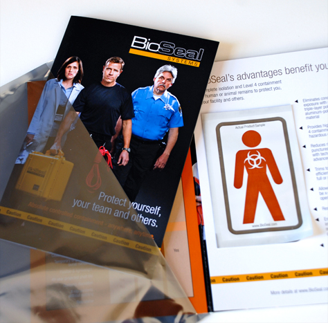 BioSeal Systems – Brochure Mailer